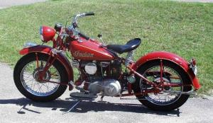 1943 Indian 741 scout