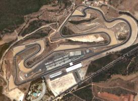 Vue aérienne du circuit d'Estoril