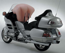 Air bag moto