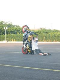 Le wheelie serpi�re